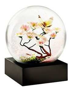 Butterfly on Branch Snow Globe Water Globes, Snow Globes, I Love Snow, Tiny World, Happy Spring, Holiday Themes, Glass Globe, Crystal Ball, Winter Wonderland