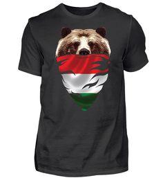BEAR Vintage Patriot Ungarn T-Shirt Basic Shirts, Bear, Mens Tops, Vintage, Fashion, Moda, Fashion Styles, Bears, Vintage Comics