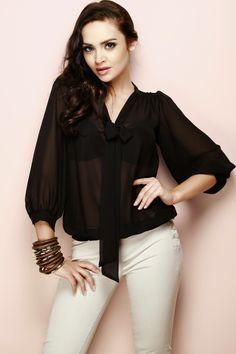 Оригинальные шифоновые блузки - маст хэв женского гардероба для различных поводов