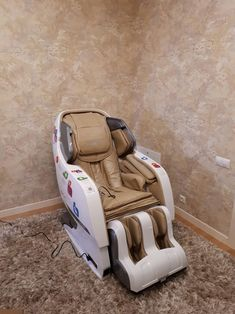 Armchair 3D Massage Chair Electric Professional Massage And Relax, Leisure Chair, Intelligent Air Massagers - Zero Gravity - Heat Massage In The Back Shiatsu Massage Chair, One Room Apartment, Professional Massage, Massage Techniques, Yamaguchi, Rich People, Baby Car Seats, Zero, Armchair