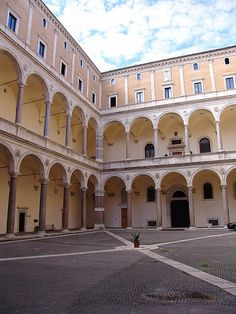 IT, Roma, Palazzo della Cancelleria. Architect Donato Bramante, 1513.