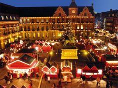 christmas market Dusseldorf, Germany