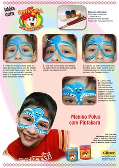 Festa infantil com Pintura Facial