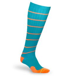 These compression socks from procompression.com are the very best. They are nice and tight without being uncomfortable. They really help with the pain/discomfort in my legs from varicosities / varicose veins.