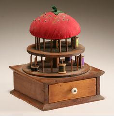images of antique pincushions on clamps - Google Search