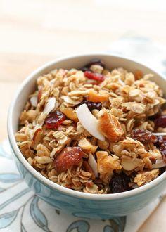 crockpot tropical coconut granola recipe
