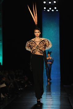 Jean Paul Gaultier Haute Couture Spring 2014  The Butterfly Effect
