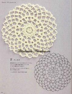 Crochet motifs - Unique Crochet Motifs Designs for Fabrics Crochet motifs crochet doily chart - if you join the motifs it would make a ovoeixu Crochet Mittens Pattern, Crochet Mandala Pattern, Crochet Circles, Crochet Doily Patterns, Crochet Chart, Crochet Designs, Crochet Doilies, Crochet Flowers, Crochet Stitches