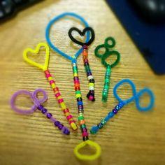classroom sensory activity: making bubble wands