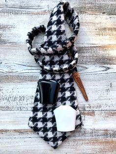 Leonodo cravatta donna Plaid Scarf, Tie, Fashion, Moda, Fashion Styles, Cravat Tie, Ties, Fashion Illustrations