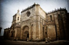 Picture of Historic Spanish town Ciudad Rodrigo, vintage style stock photo, images and stock photography. Spanish Towns, Vintage Fashion, Vintage Style, Notre Dame, Barcelona Cathedral, Stock Photos, Building, Pictures, Photography