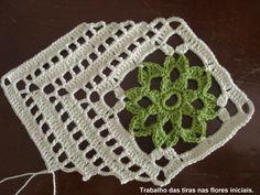 9 Tips for knitting – By Zazok Crochet Art, Crochet Home, Crochet Motif, Crochet Doilies, Crochet Stitches, Crochet Patterns, Crochet Blocks, Crochet Squares, Tunisian Crochet