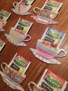 Tim Holtz Tea Time (for the teachers at school)