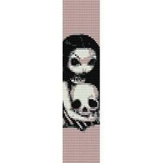 skull loom patterns - Google Search