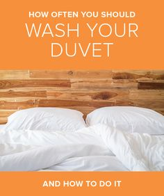 Cleaning your duvet only has to happen every 10 years. Click through to find out how to get it done.