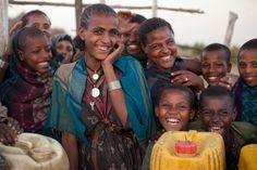 Africa: Orthodox Christian Amhara Children, Ethiopia