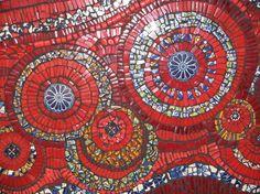 jane du rand . ceramic mosaic artist . south africa