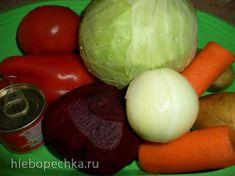 Красный борщ по Лазерсону + Борщевая заправка для морозилки (готовим впрок!)