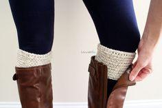 Boot Cuffs Free Crochet Pattern - B.hooked Crochet