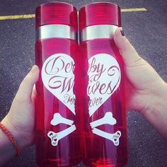 Wifey Bottles - for you and the Derby Wife in your life. It's all about derby love... and hydration! #rollerderby