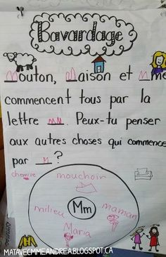 teach letter names and sounds to their kindergarten students (Maternelle avec Mme Andrea: Alphabet fun! Kindergarten Centers, Kindergarten Activities, Writing Activities, Alphabet Activities, French Teaching Resources, Teaching French, Teaching Ideas, Teaching Spanish, Teaching Reading