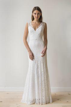 Helena wedding gown — Elizabeth Dye