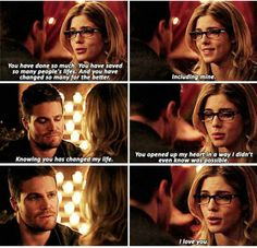 Arrow - Oliver & Felicity #3x20 #Season3 #Olicity <3