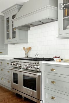 Light Grey Kitchen.