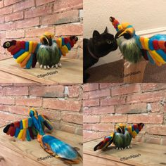 Needle Felted Soft Sculpture Gifts by Felt Gifts, Quirky Gifts, Soft Sculpture, New Shop, Needle Felting, Gifts For Friends, Handmade Gifts, Etsy Seller, Bird