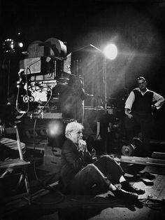 1952. Charlie CHAPLIN directing Limelight - W. Eugene  Smith