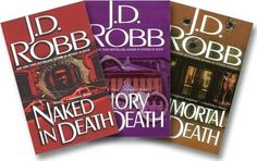 J.D. Robb 'In Death' series of mysteries, about NY homicide detective Eve Dallas in the year 2058.