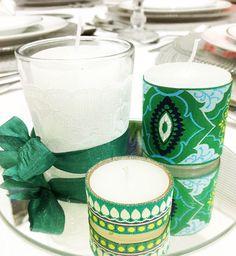 DIY | Velas decorativas para o natal