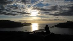 Sunset Fosnavag Norway Norway, Celestial, Sunset, Places, Travel, Outdoor, Outdoors, Viajes, Destinations