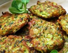 Zucchini (Courgette) Fritters with Feta and Dill – Kavak Mucveri Zucchini Fritters, Quiche, Romanian Food, Middle Eastern Recipes, Feta, No Cook Meals, Appetizer Recipes, Appetizers, Mariana