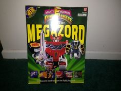 Mighty Morphin Power Rangers Deluxe Set Megazord from 1993!!