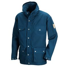 Product Details Classic jacket that will withstand wind and wear for many years. 6 pockets and a fixed, snugly fitting hood. Description Outdoor classic from 1968 that was developed in collaboration w