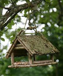 There are a lot of different kinds of cool bird feeders that may be bought these days. Moreover wild bird food is really cheap and will entice a number of birds. There are various species of birds that can you feed in this cute bird feeder ideas. Rustic Bird Feeders, Bird House Feeder, Diy Bird Feeder, Bird House Kits, Bird Houses Diy, Bird Aviary, Cute Birds, Garden Projects, Garden Art
