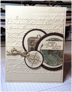 A La Cards: Traveller Birthday