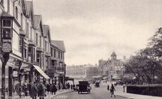 Vintage Postcards of the UK The Crescent St Annes