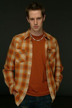 The first outfit we ever see Logan Echolls (Jason Dohring) in, in Veronica Mars.