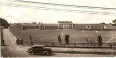 Papanui Technical College in the 1940s..
