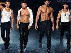I can already tell that Magic Mike is going to be the best movie this year.