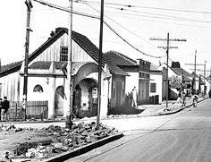 A antiga Capelinha da Agua Verde na Avenida República Argentina, em 1952