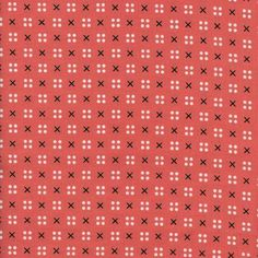 X Dot in Pink designed by Kim Kight for Cotton + Steel as part of the Penny…