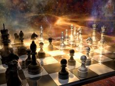 Who says that chess can't be big and epic? Description from tlbklaus.deviantart.com. I searched for this on bing.com/images