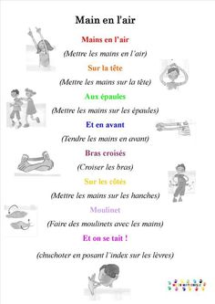MC en maternelle – une année en maternelle (PS et GS) - Kindergarten Lesson Plans French Teaching Resources, Teaching French, Transition Songs, French Poems, French Classroom, Kindergarten Lesson Plans, French Teacher, French Immersion, French Lessons