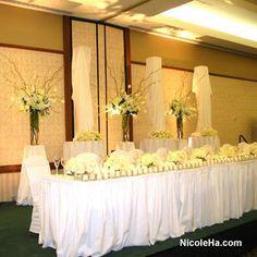Wedding, Flowers, White, Nicole ha - Photo by Nicole Ha