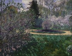 Garden in Spring - Sergei Arsenevich Vinogradov - The Athenaeum