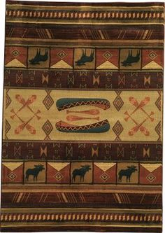 "Cabela's Grand River Lodge™ Area Rugs – 7'10"" x 10'6"" : Cabela's"