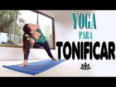 Yoga para tonificar PIERNAS y GLUTEOS | Clase 9 - 30 min - YouTube